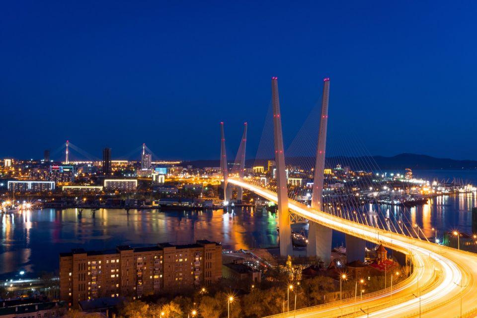 ウラジオストクの夜景